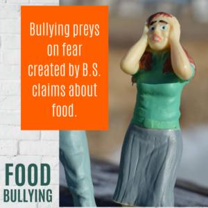Food Bullying Fears