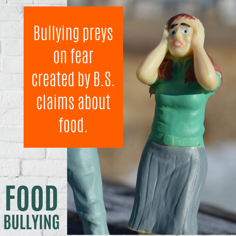Food Bullying Fears