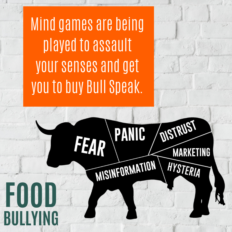 Food Bullying Mind Games