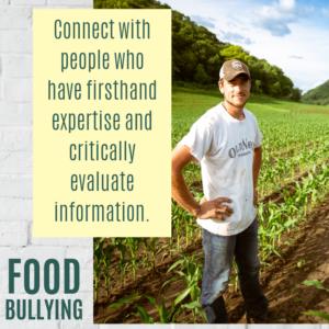 Food Bullying Farmer