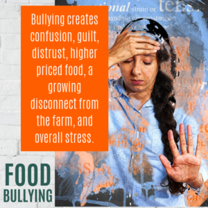 Food Bullying confusion