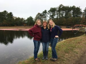Cranberry farm family