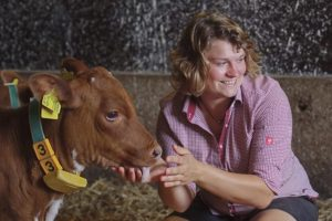 German dairy farmer