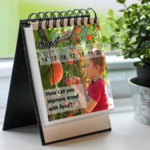 Growth Calendar August Eating