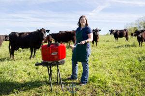 Meat scientist Jennie Hodgen