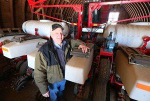 Agronomist Kevin Hoyer