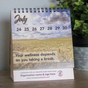 Farm stress relief calendar