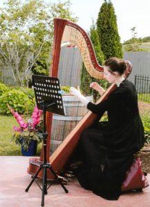 Harpist Callie Greene